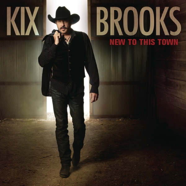 Kix Brooks New to This Town Cover Art