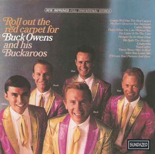 Buck Owens Roll Out The Red Carpet cover art