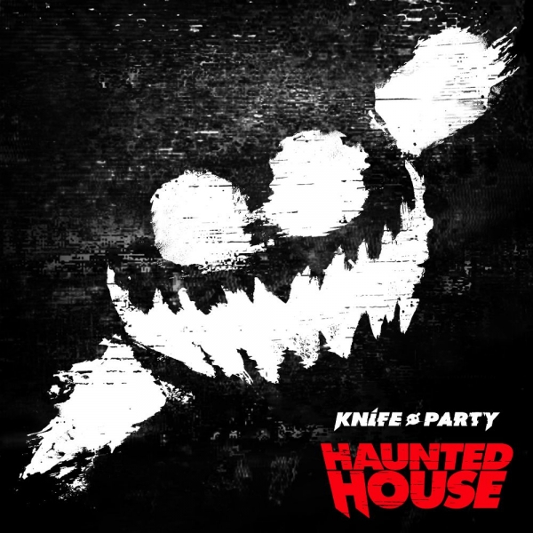 Knife Party Haunted House Cover Art