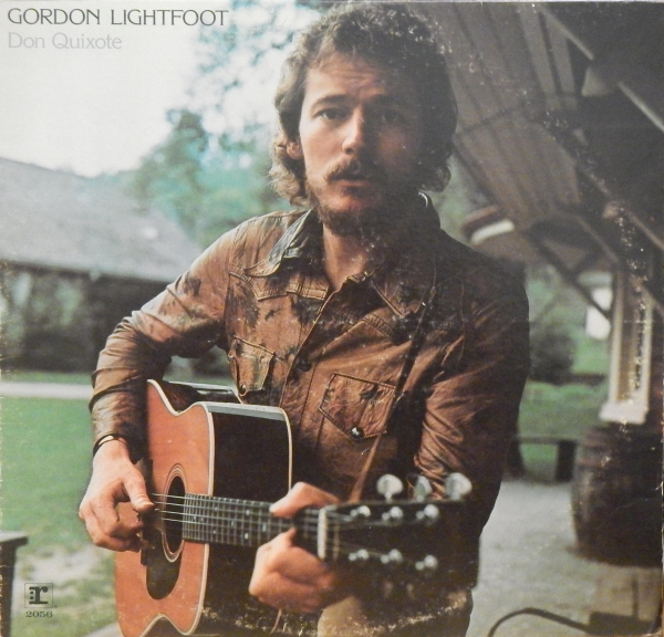 Gordon Lightfoot Don Quixote Cover Art
