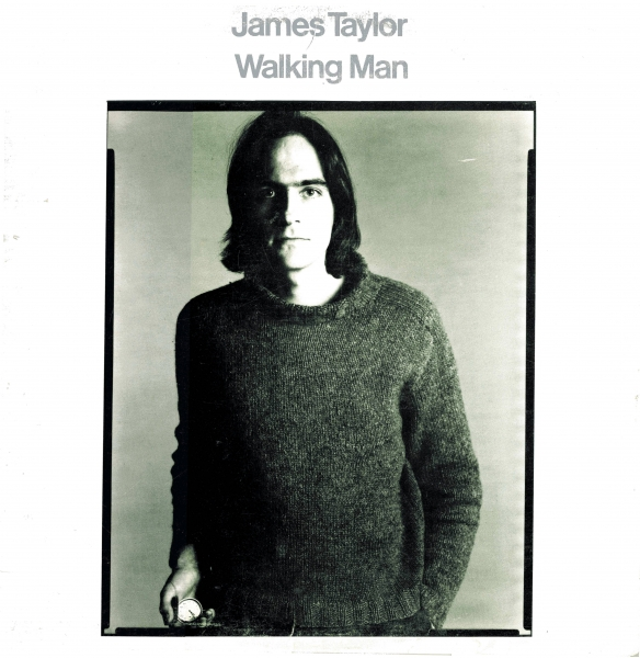 James Taylor Walking Man cover art