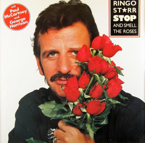 Ringo Starr Stop and Smell the Roses Cover Art