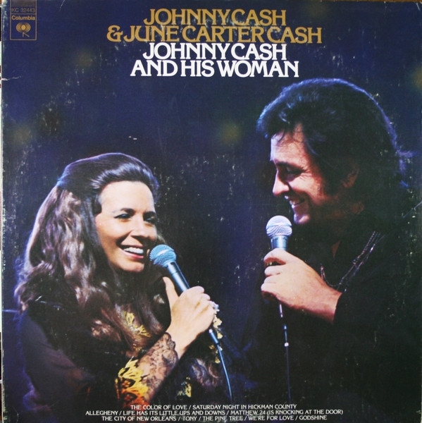 June Carter Cash Johnny Cash and His Woman cover art