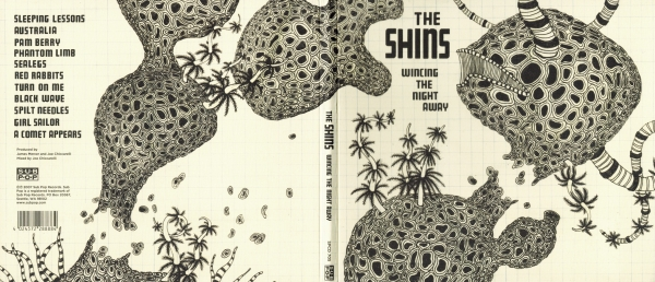 The Shins Wincing the Night Away cover art