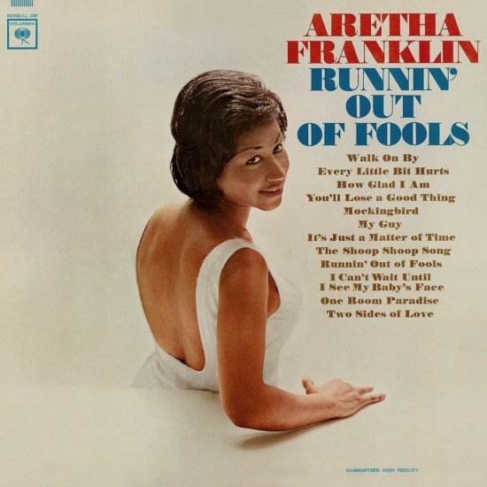 Aretha Franklin Runnin' Out of Fools cover art