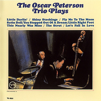 The Oscar Peterson Trio The Oscar Peterson Trio Plays Cover Art