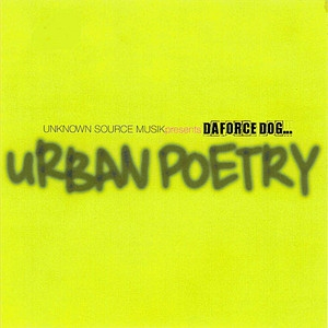 DaForce Urban Poetry cover art