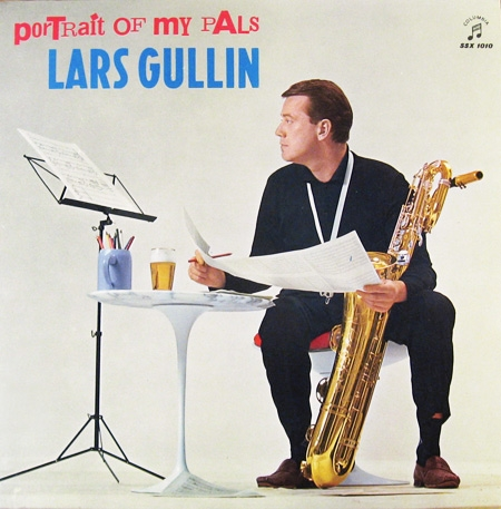 Lars Gullin Portrait of My Pals cover art