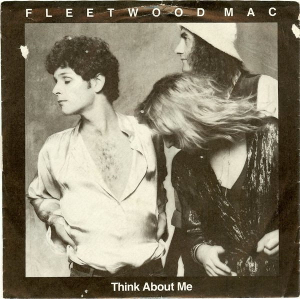 Fleetwood Mac Think About Me / Save Me a Place Cover Art