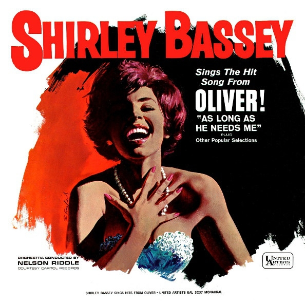 Shirley Bassey Shirley Bassey Sings The Hit Song From Oliver Plus Other Popular Selections Cover Art