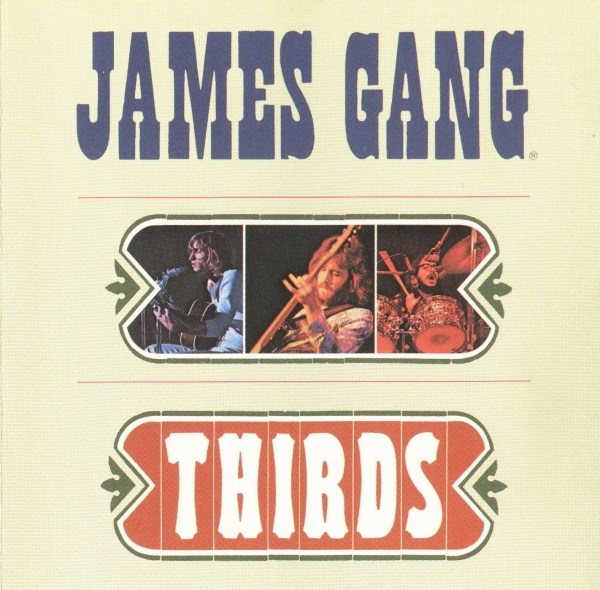 James Gang Thirds cover art