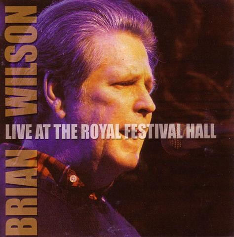 Brian Wilson Live at the Festival Hall Cover Art