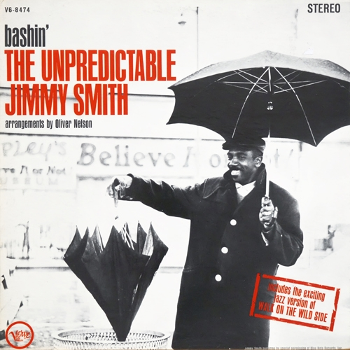 Jimmy Smith Bashin': The Unpredictable Jimmy Smith Cover Art