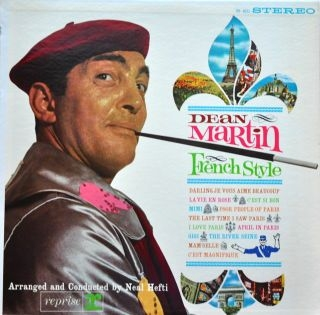 Dean Martin French Style cover art
