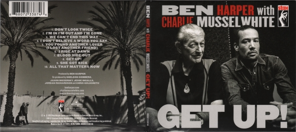 Charlie Musselwhite Get Up! cover art