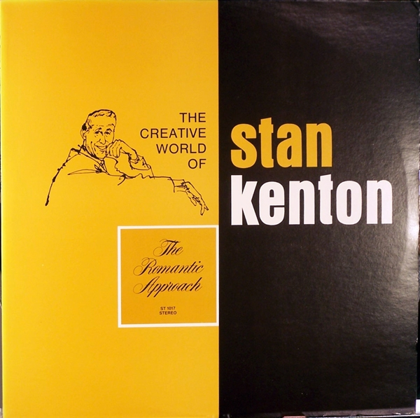 Stan Kenton The Romantic Approach cover art