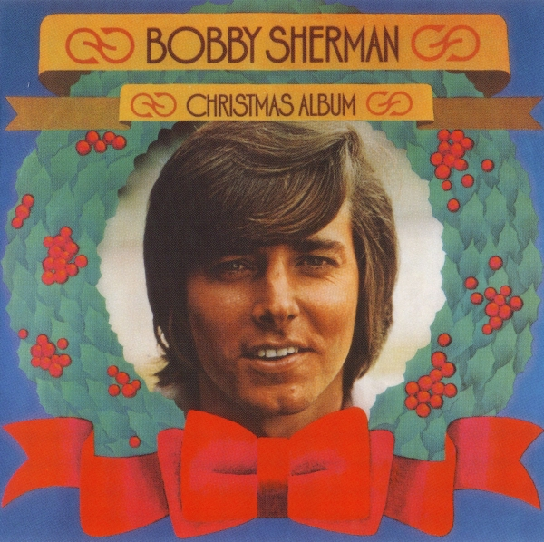 Bobby Sherman Christmas Album cover art