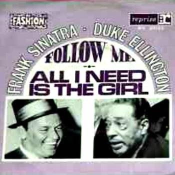 Duke Ellington Follow Me / All I Need Is the Girl cover art