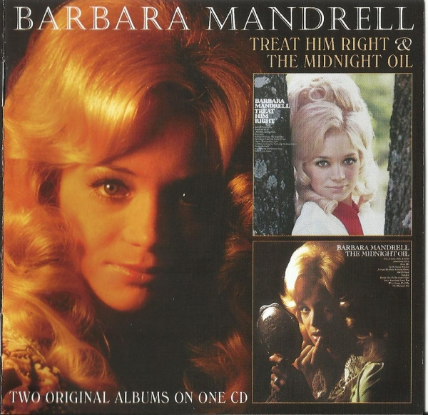 Barbara Mandrell The Midnight Oil/Treat Him Right cover art