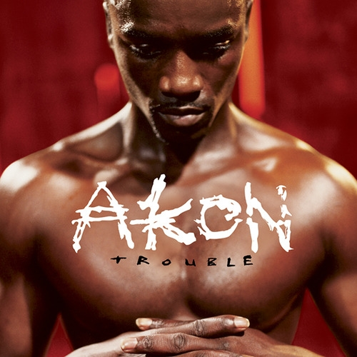 Akon Trouble cover art