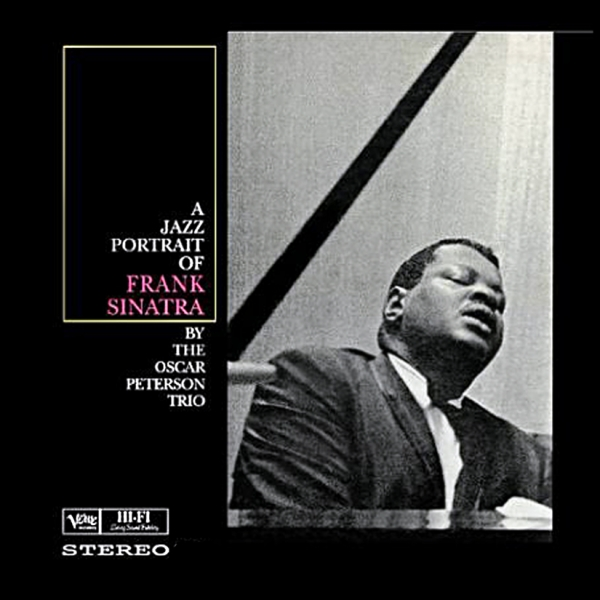 The Oscar Peterson Trio A Jazz Portrait of Frank Sinatra cover art