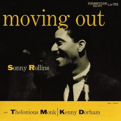 Sonny Rollins Moving Out cover art