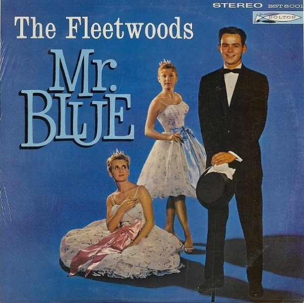 The Fleetwoods Mr. Blue Cover Art
