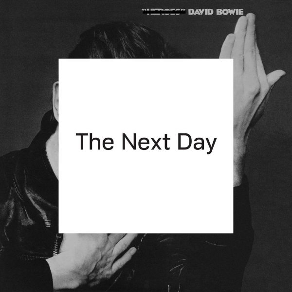 David Bowie The Next Day cover art