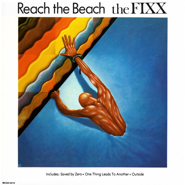 The Fixx Reach the Beach cover art