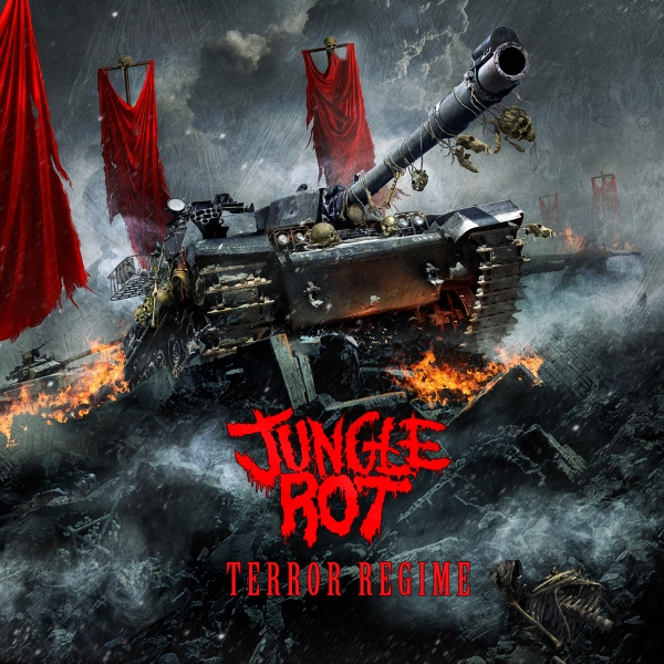 Jungle Rot Terror Regime cover art