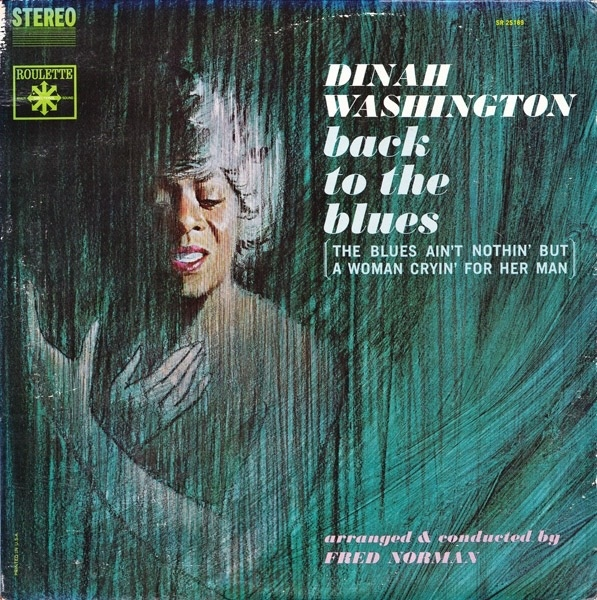 Dinah Washington Back to the Blues Cover Art