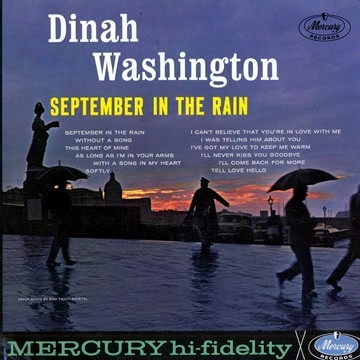 Dinah Washington September in the Rain Cover Art