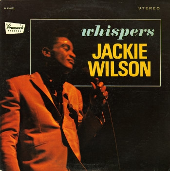 Jackie Wilson Whispers cover art