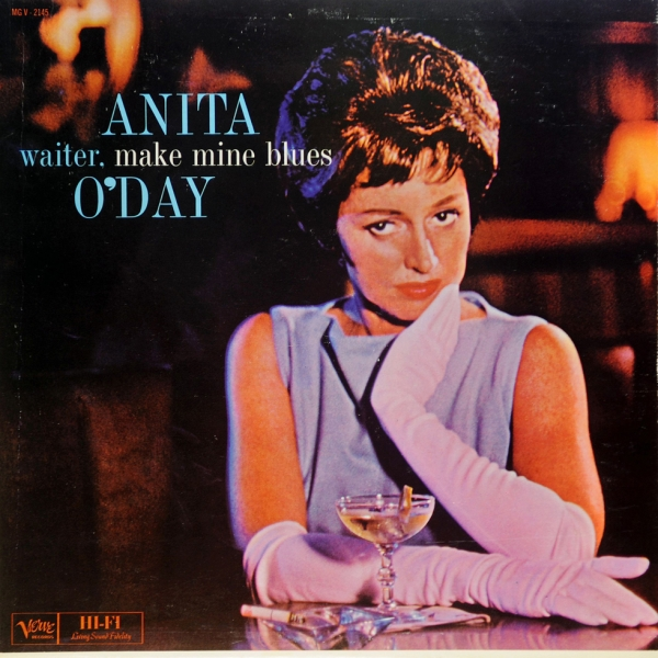 Anita O'Day Waiter, Make Mine Blues Cover Art