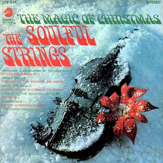 The Soulful Strings The Magic of Christmas Cover Art