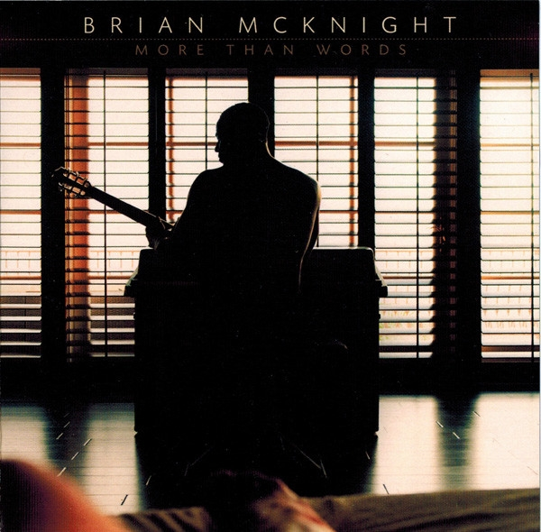 Brian McKnight More Than Words cover art