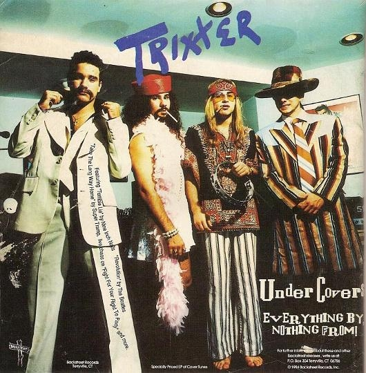 Trixter Undercovers Cover Art