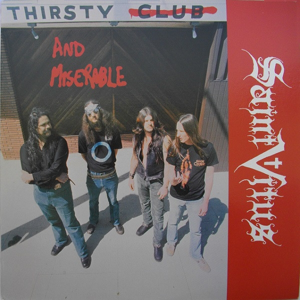 Saint Vitus Thirsty and Miserable Cover Art