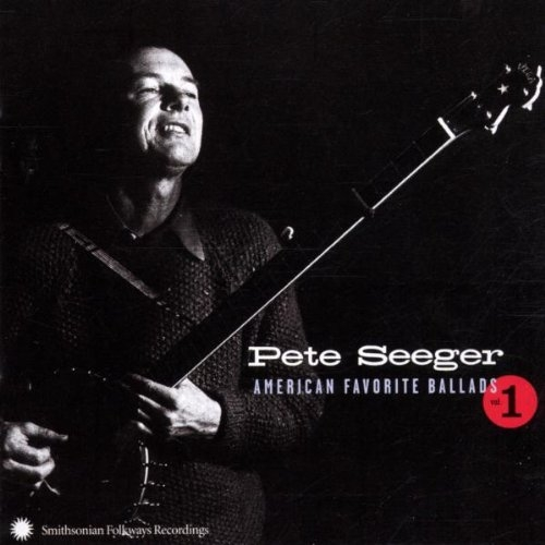 Pete Seeger American Favorite Ballads, Volume 1 Cover Art