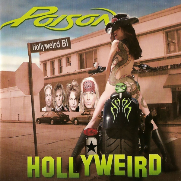 Poison Hollyweird cover art