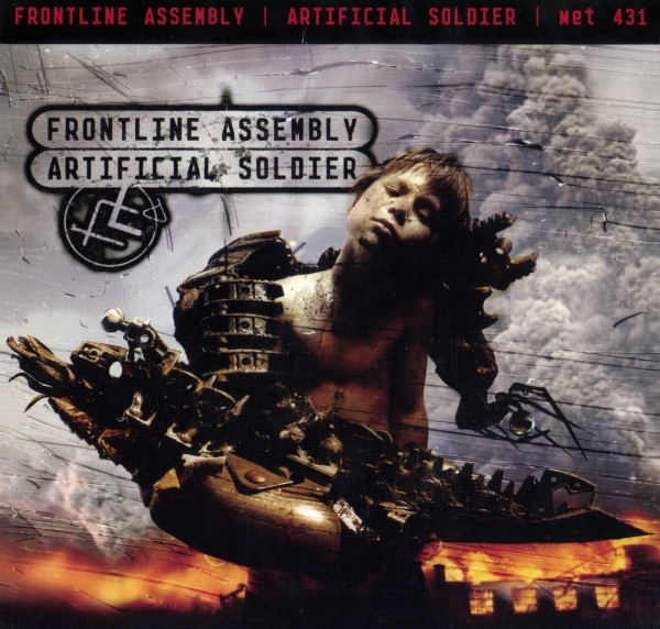 Front Line Assembly Artificial Soldier Cover Art