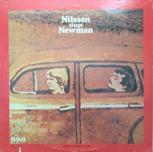 Harry Nilsson Nilsson Sings Newman cover art