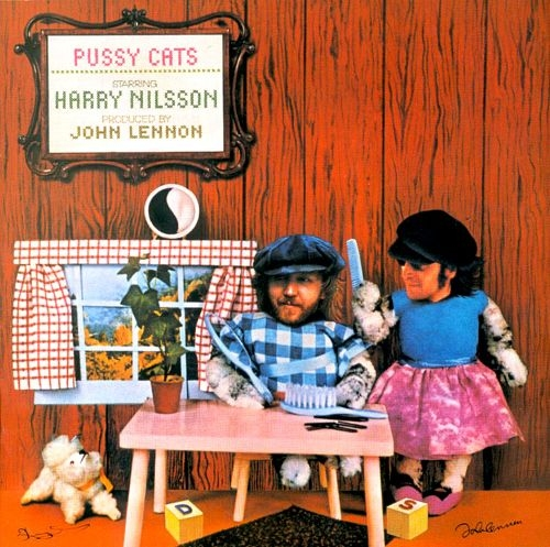 Harry Nilsson Pussy Cats cover art