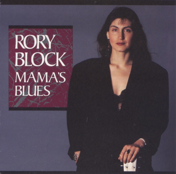 Rory Block Mama's Blues cover art
