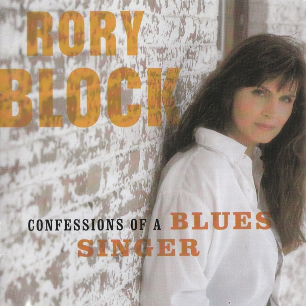 Rory Block Confessions of a Blues Singer cover art