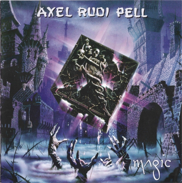 Axel Rudi Pell Magic cover art