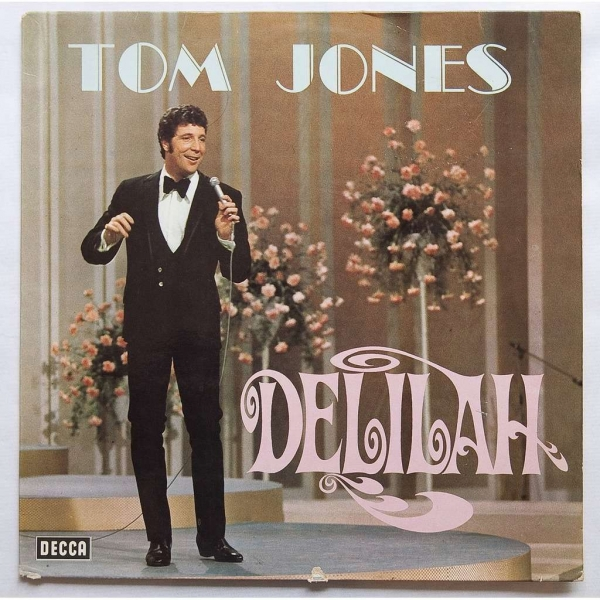 Tom Jones Delilah cover art