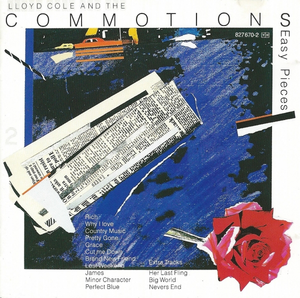 Lloyd Cole and the Commotions Easy Pieces Cover Art