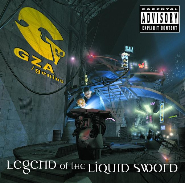 GZA/Genius Legend of the Liquid Sword cover art