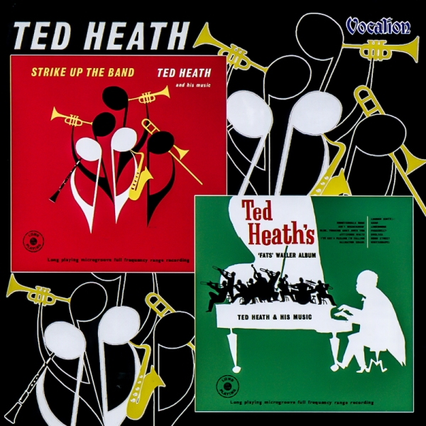 Ted Heath Strike Up the Band / Fats Waller Album cover art